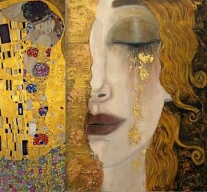 gustav klimt 100 famous paintings analysis complete
