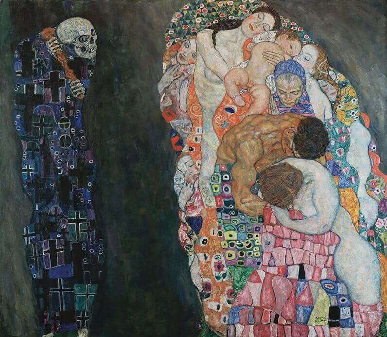 Death And Life, 1908 by Gustav Klimt