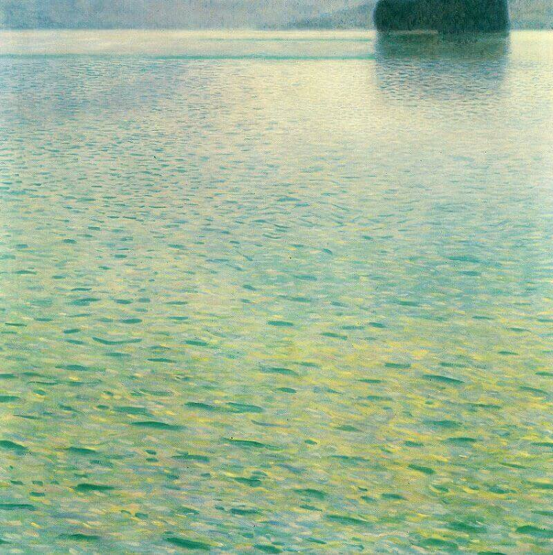 Island in the Attersee, 1902 by Gustav Klimt