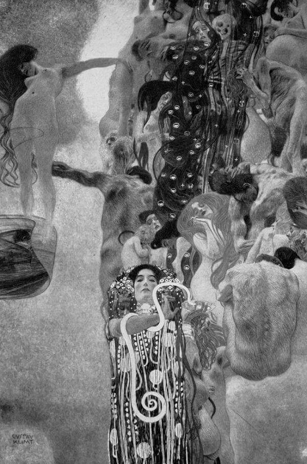 Medicine (Photo), 1900-1907 by Gustav Klimt