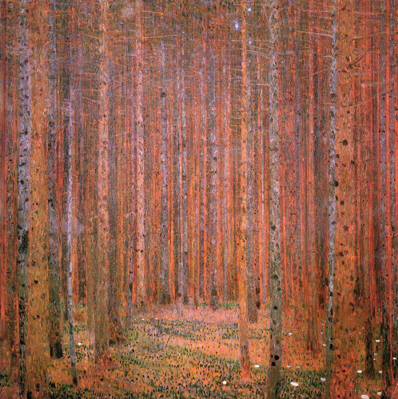 Pine Forest, 1902 by Gustav Klimt