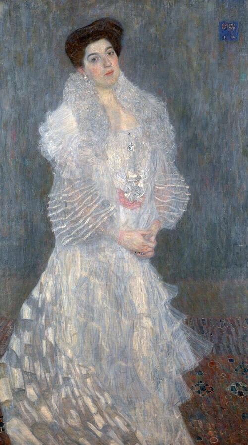 Portrait Of Hermine Gallia 1903 By Gustav Klimt