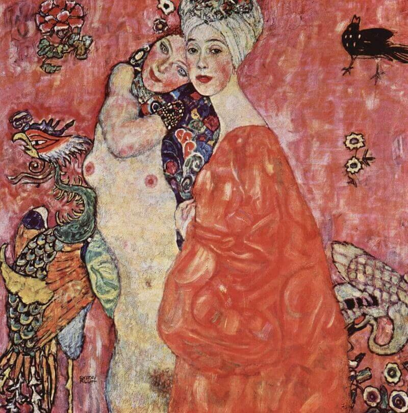 Gustav Klimt, The Women Friends