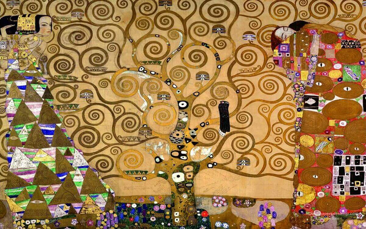 The Tree Of Life 1905 By Gustav Klimt